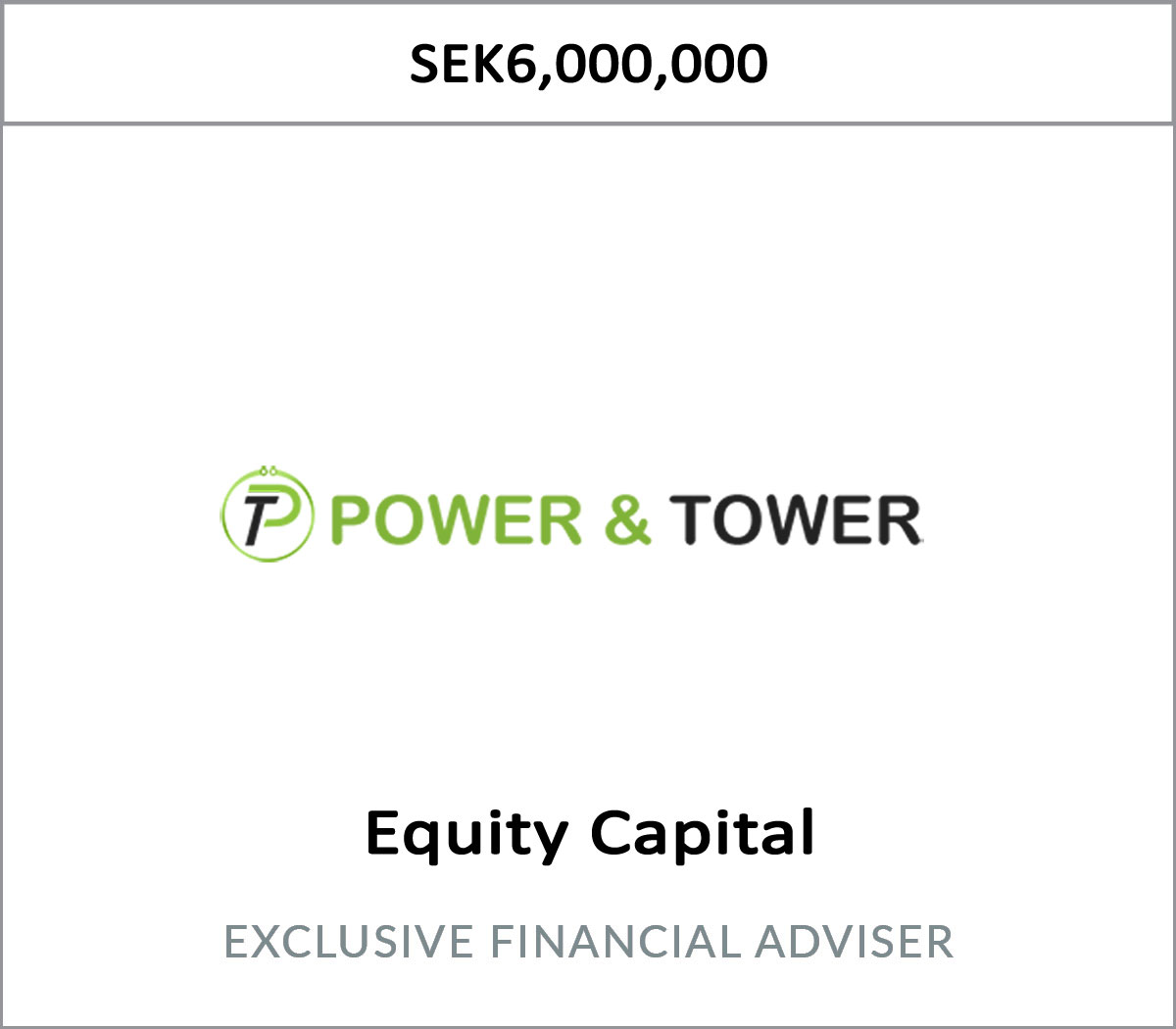 Transaction Power & Tower